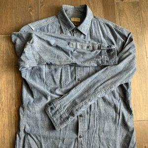 Mens Sonoma button down shirt. Medium.